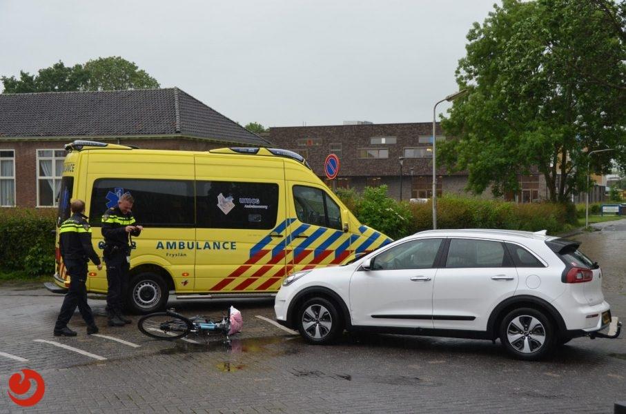 Jongetje gewond bij aanrijding in Leeuwarden