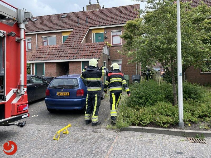 Explosie achter woning in Grou: vuurwerk ontploft in tuin