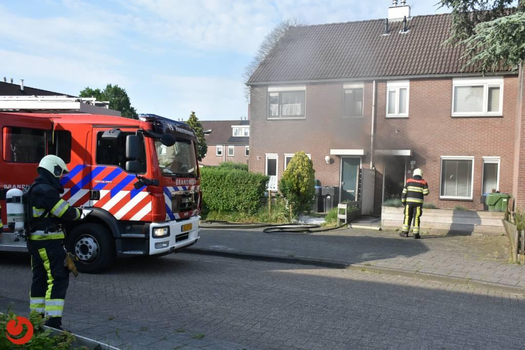 Woning zwaar beschadigd door keukenbrand in Heerenveen