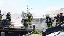 Brand op jacht in Offingawier
