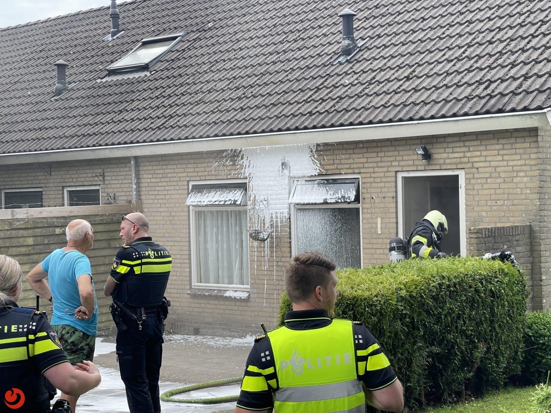 Woningbrand in Boelenslaan snel onder controle