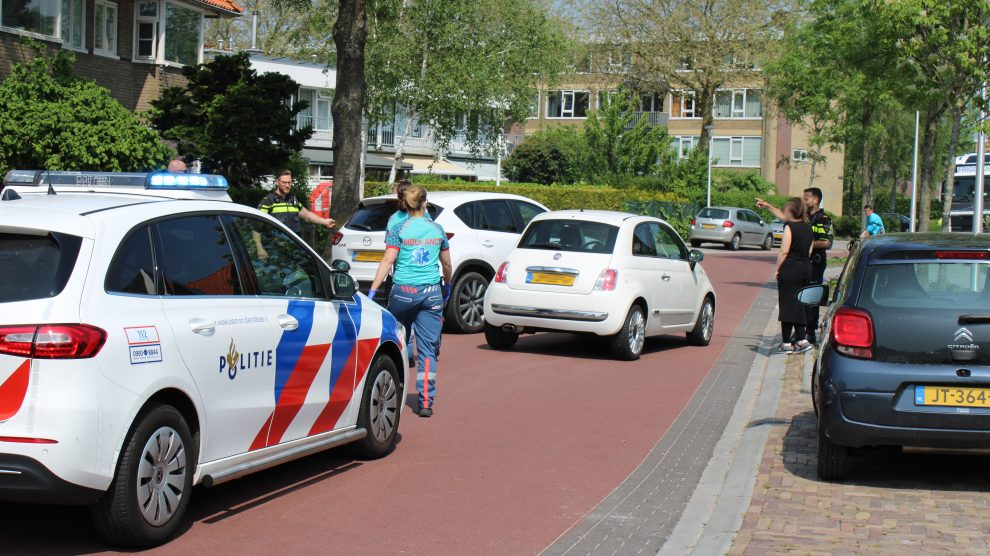 Gewonde tijdens inparkeren in Leeuwarden