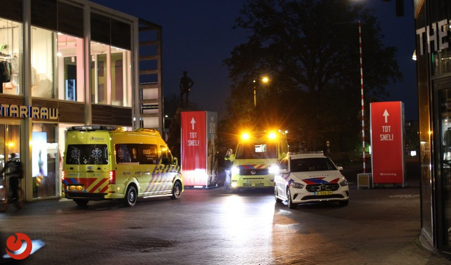 Man ernstig gewond na steekincident Leeuwarden