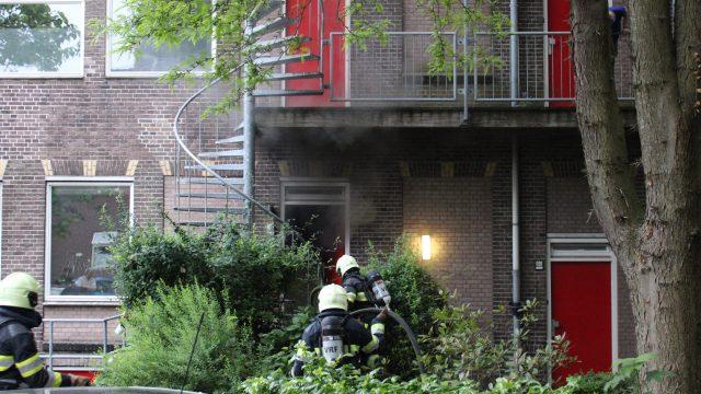 Katten gered bij keukenbrand in appartement Leeuwarden
