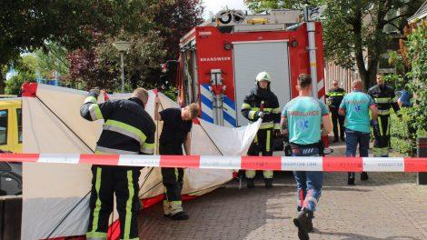 Brandweer ingezet voor metingen bij onwelwording in Leeuwarden