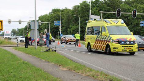 Motorrijder doorgereden na aanrijden fietser bij E10 Ryptsjerk