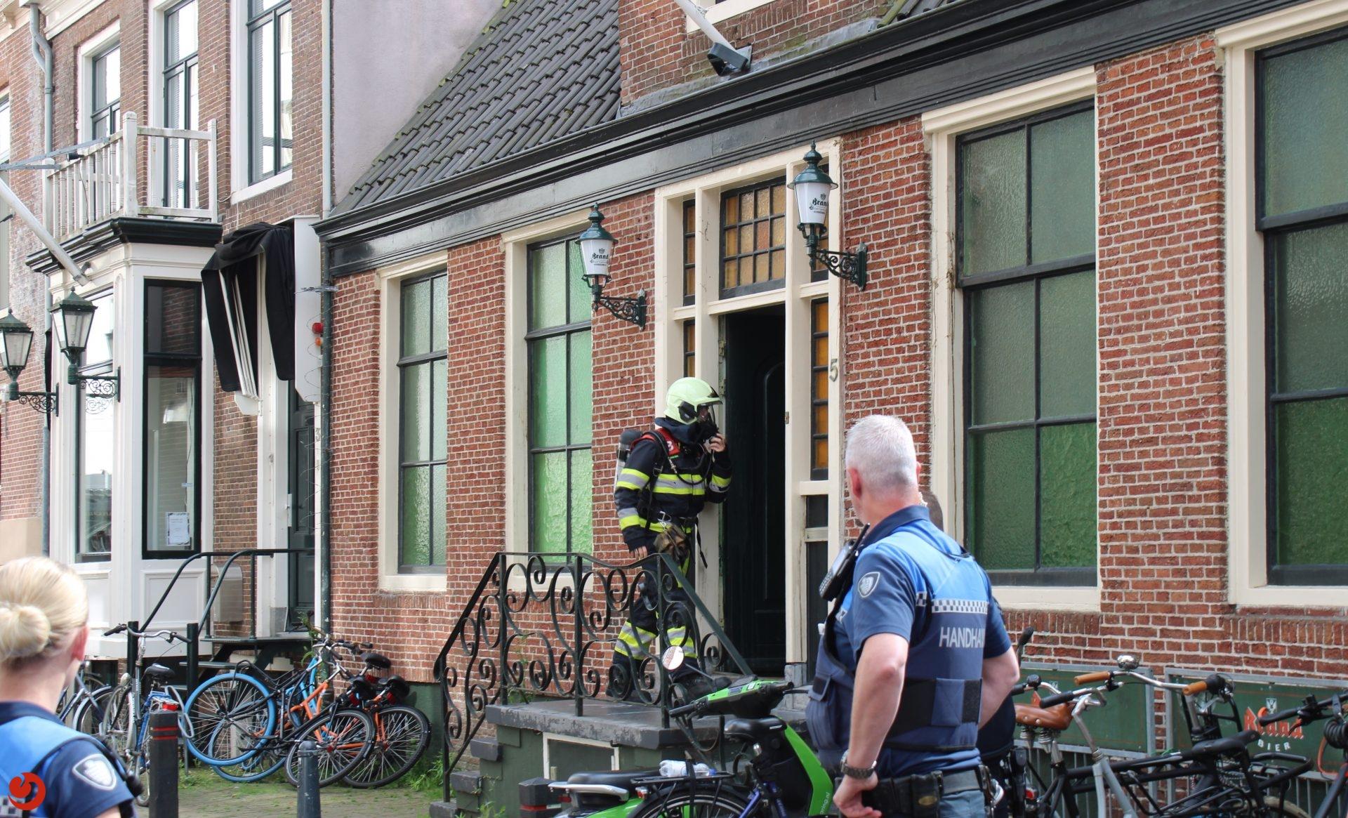 Sociëteit 't Heertje in Leeuwarden kort ontruimd wegens lekkage