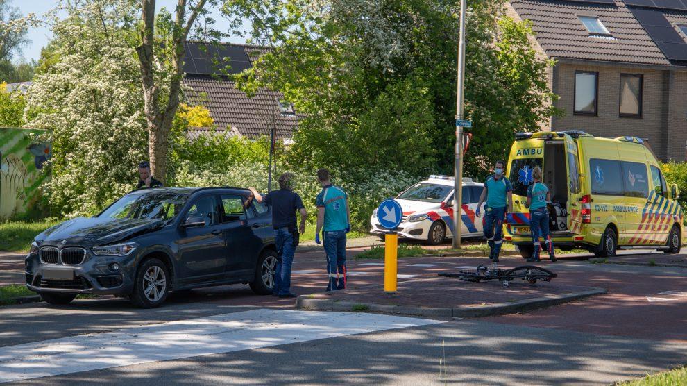 Fietser gewond bij aanrijding op oversteekplaats in Leeuwarden