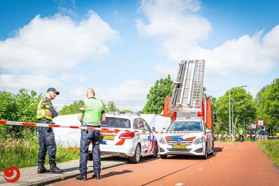 Overleden persoon aangetroffen in sloot Heerenveen