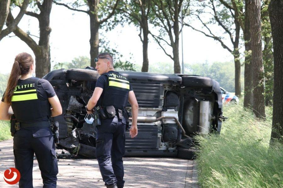 Gewonde bij eenzijdig ongeval in Drachtstercompagnie