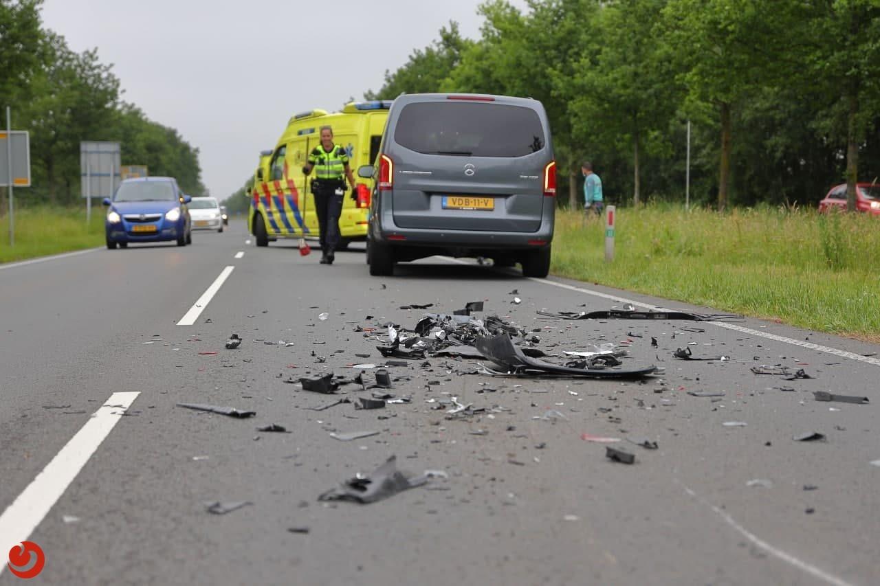 Ongeval na pechgeval op N369 Rottevalle