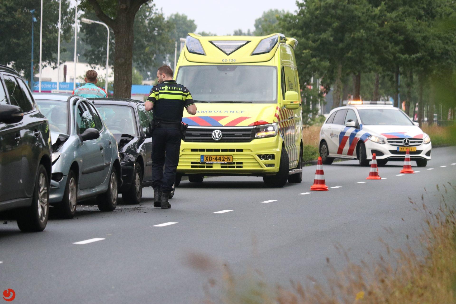 Twee gewonden bij ongeval in Drachten