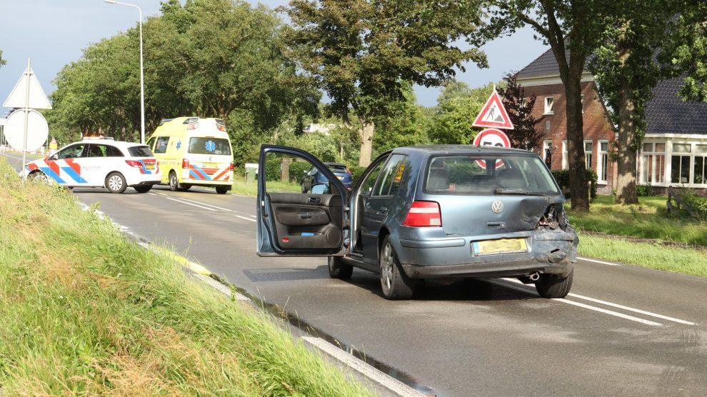 Gewonde na ongeval bij wegwerkzaamheden N355 Noardburgum