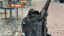 Waterstofzuiger vat vlam in café op Vlieland