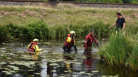 Skelter langs het water doet hulpdiensten massaal uitrukken in Heerenveen