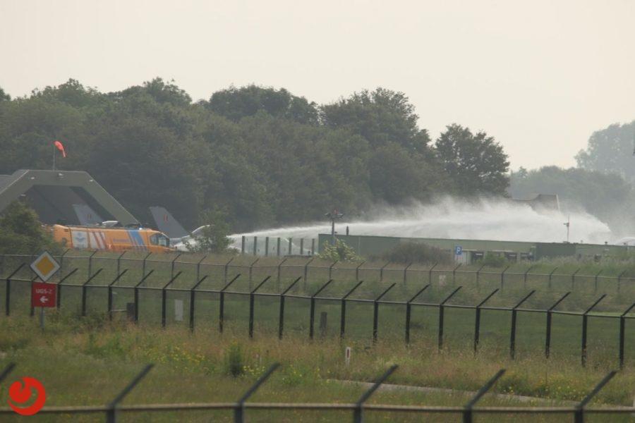 F-16 piloot gebruikt schietstoel bij incident op vliegbasis Leeuwarden