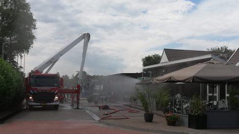 Veel schade bij Café Prins Kollumerzwaag na brand in keuken