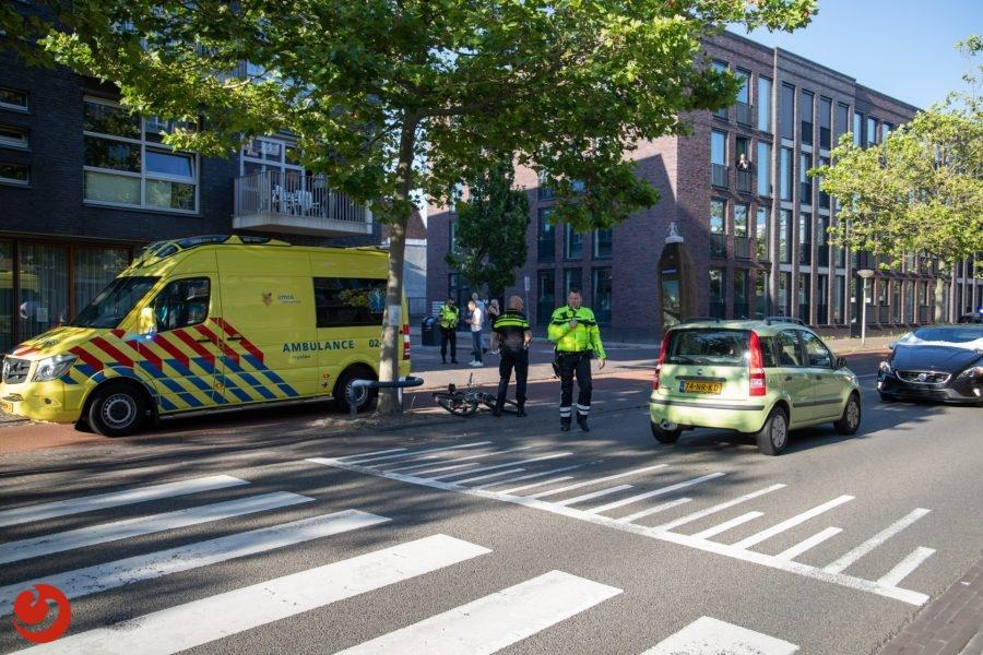 Jonge fietser gewond bij aanrijding met auto in Leeuwarden