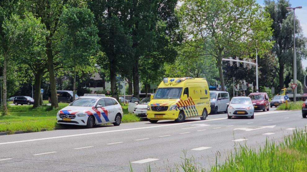 Gewonde bij botsing in Leeuwarden