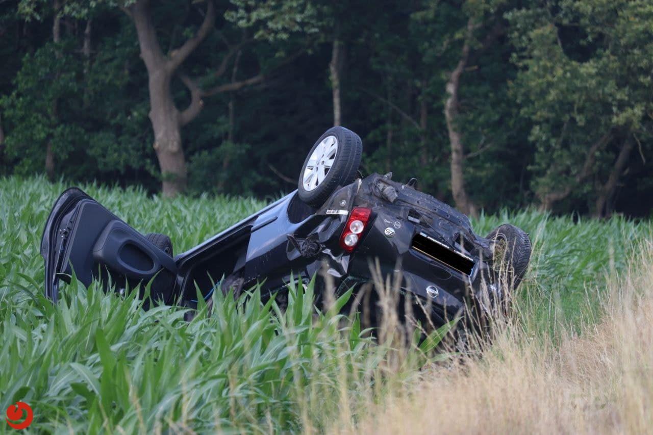 Gewonde bij ongeval op de A7 Drachtstercompagnie