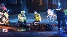 Scooterrijder valt na achtervolging in Leeuwarden
