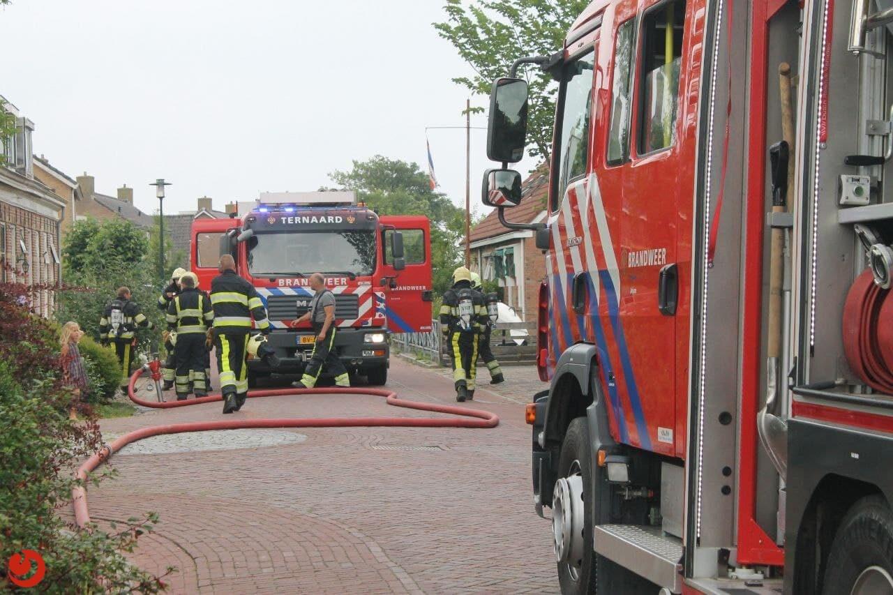 Brand in slaapkamer Moddergat snel geblust