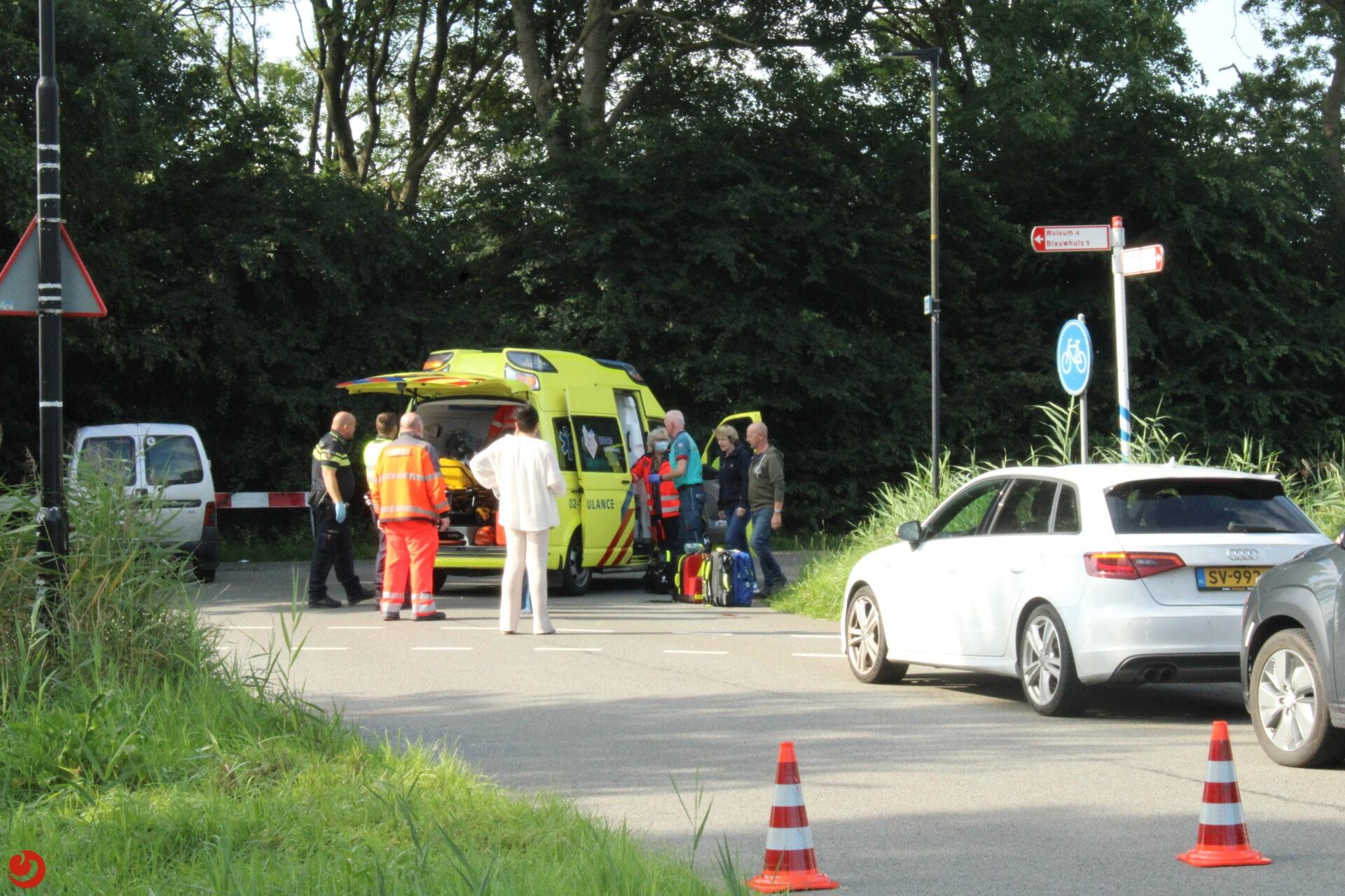 Fietser ernstig gewond na val met fiets in Bolsward