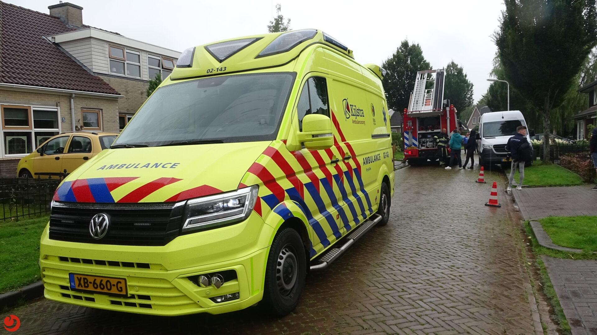 Fietsster overleden na ongeval in Harkema.