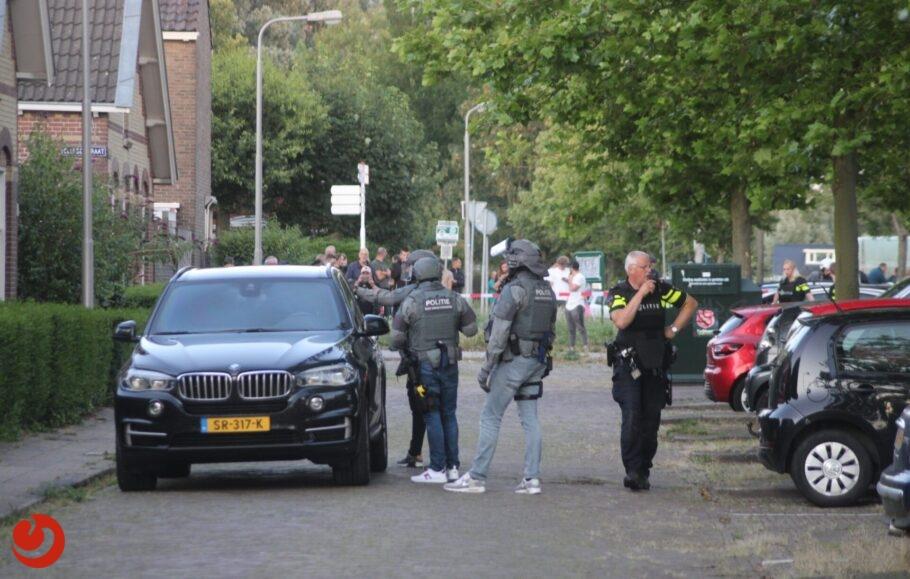 Grote politie inzet in Leeuwarden na schietpartij; verdachte aangehouden