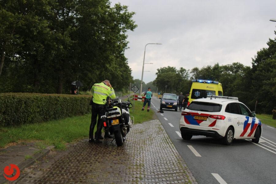 Fietser geschept op oversteekplaats N361 in Ryptsjerk