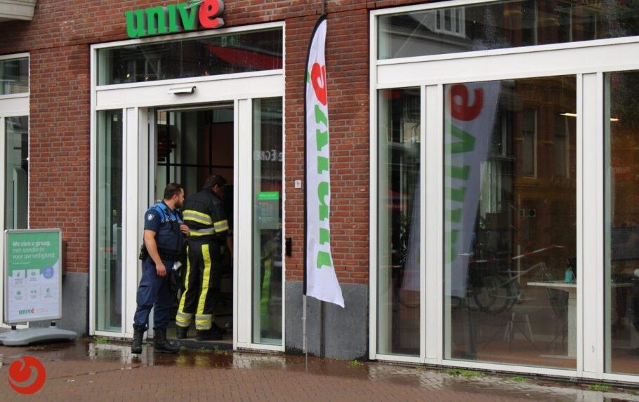 Water stroomt langs buitenmuren door lekkage in appartement Leeuwarden
