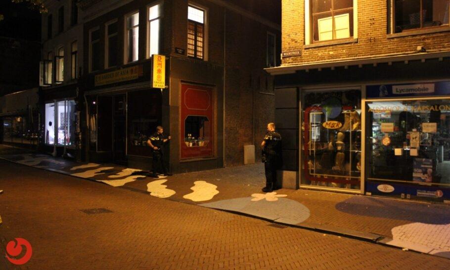 Twee aanhoudingen voor mogelijke beroving in centrum Leeuwarden