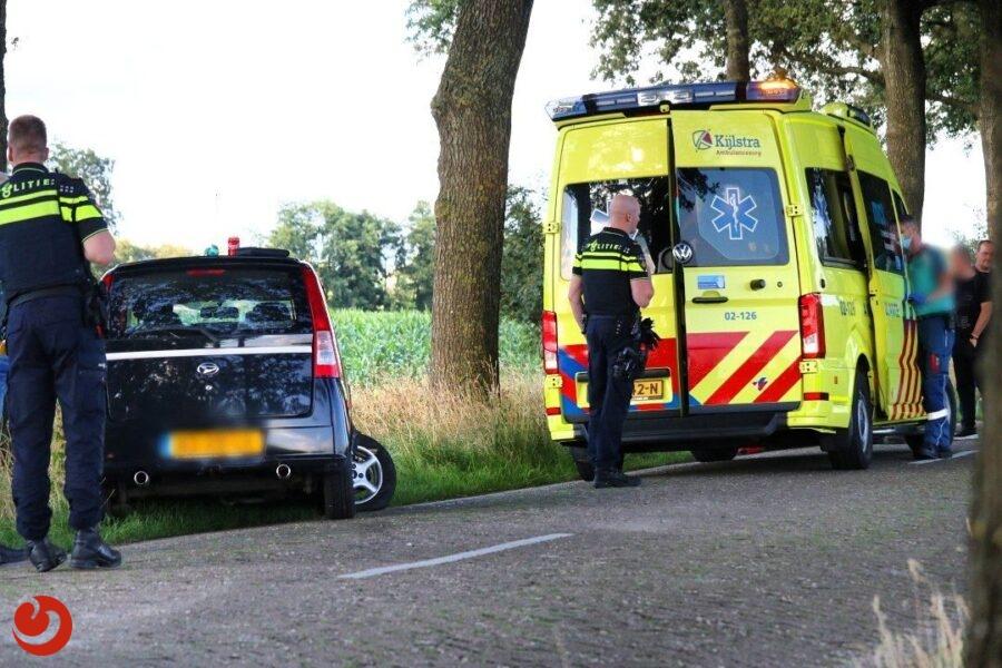 Bestuurster gewond na eenzijdig ongeval Drachtstercompagnie