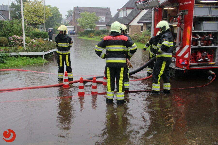 Forse wateroverlast in Friesland