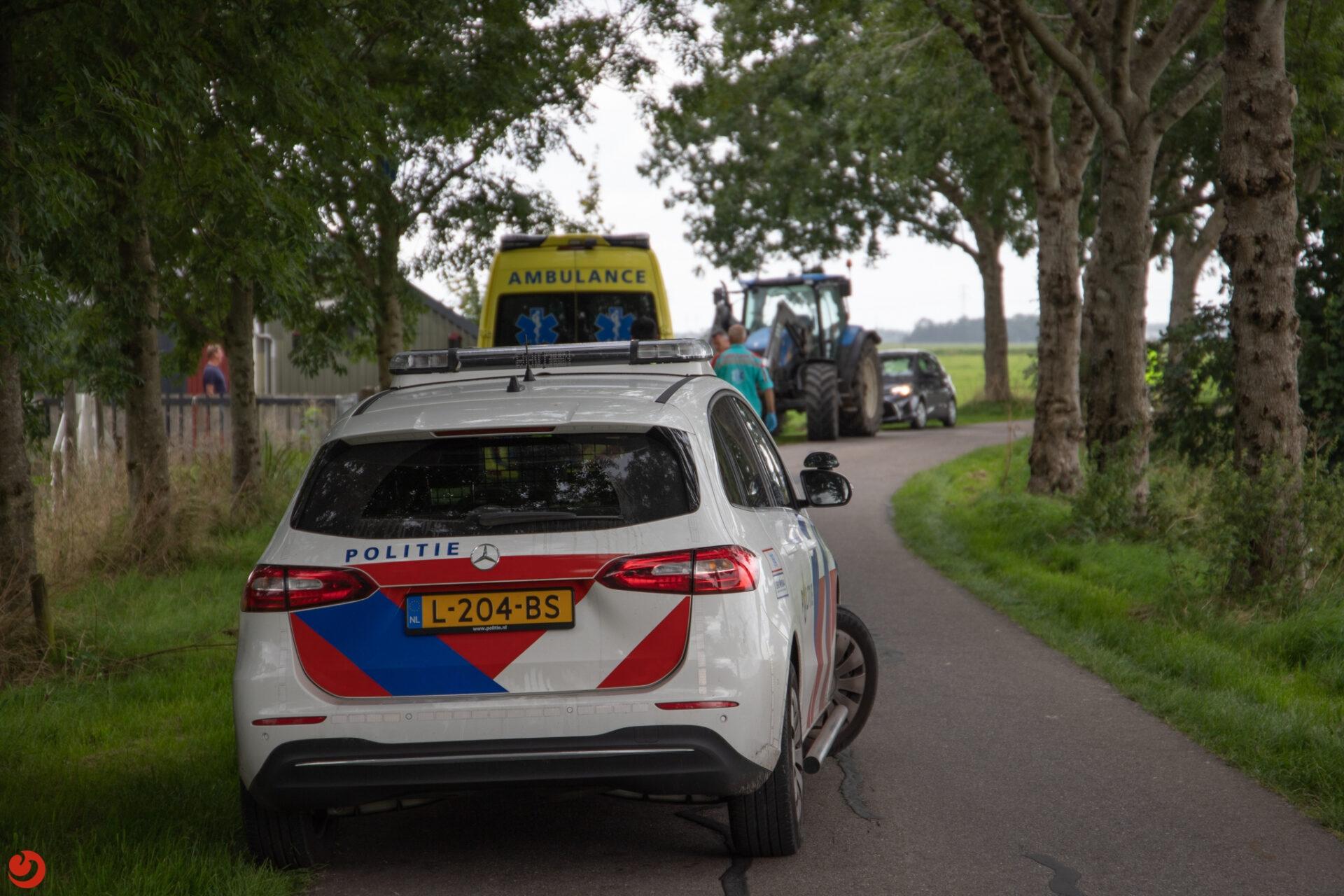 Fietsers gewond bij ongevallen in Fryslân.