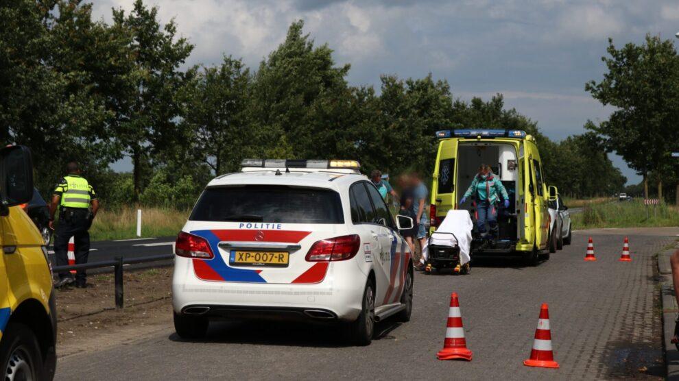 Scooterrijder gaat onderuit en raakt gewond bij Rottevalle