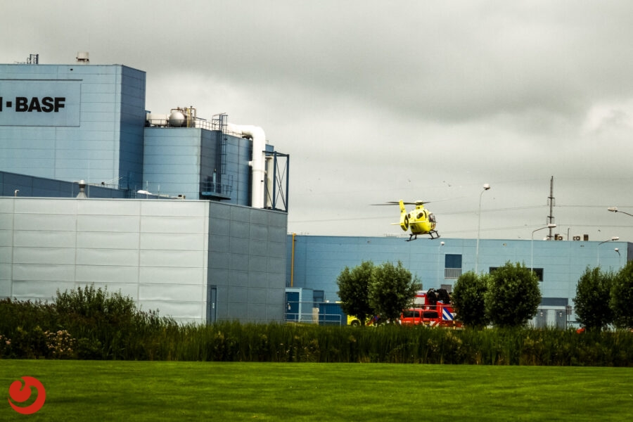 Traumaheli ingezet voor ernstig bedrijfsongeval in Heerenveen