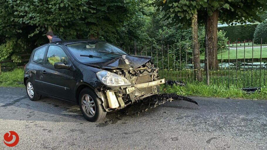 Alcomobiliste aangehouden na eenzijdig ongeval in Marsum