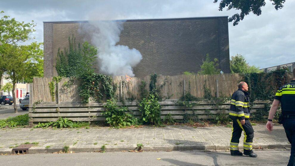 Woningbrand blijkt verbranding hoogspanningskabels in vuurkorf Leeuwarden