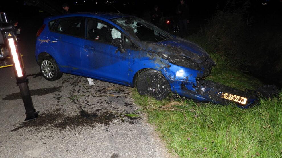 Persoon gewond bij eenzijdig ongeval in Blessum