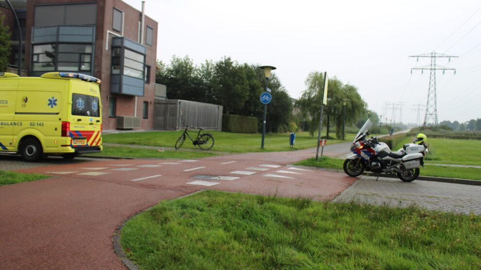 Fietser gewond bij botsing op fietsoversteek in Leeuwarden