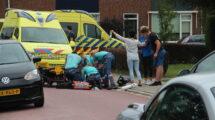 Vrouw ernstig gewond na val met fiets in Balk