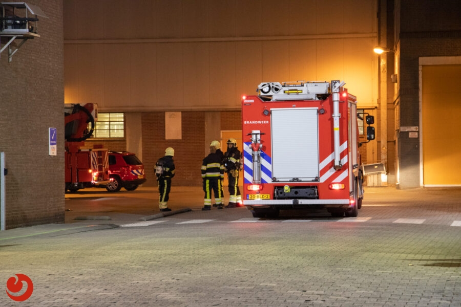 Brandmelding bij meelfabriek in Leeuwarden