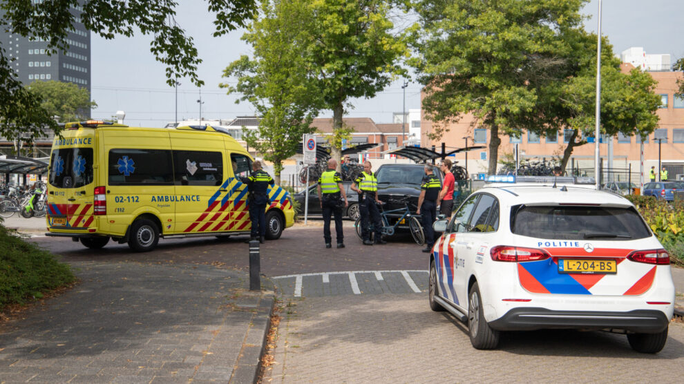 Fietser gewond na botsing met automobilist in Leeuwarden