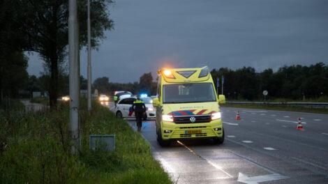 Motorrijder gewond na eenzijdig ongeval in Leeuwarden