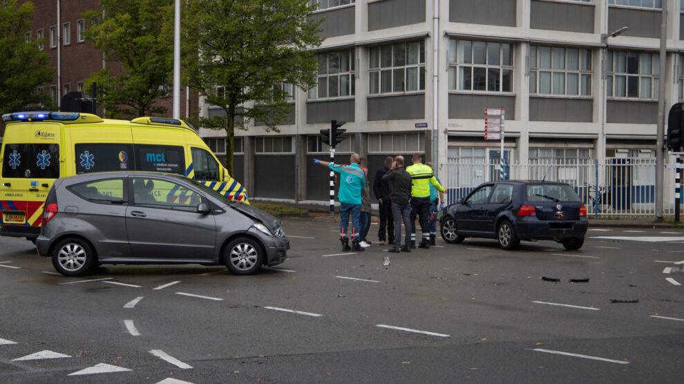 Flinke verkeershinder tijdens avondspits door ongeval in Leeuwarden