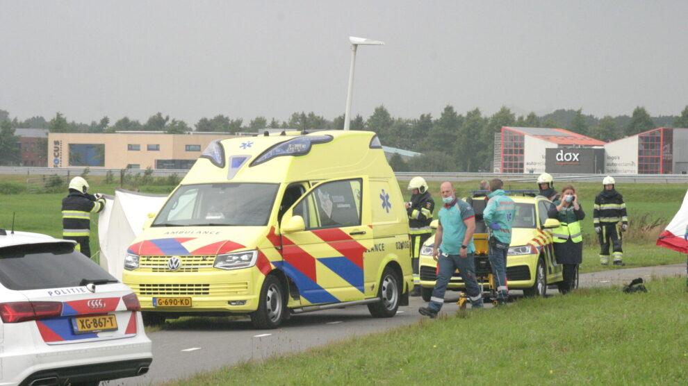 Motorrijder overleden bij ongeval in Scharsterbrug
