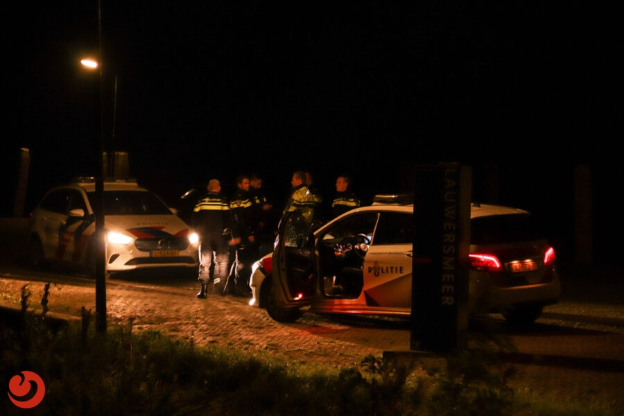 Zoekactie naar vermiste man op Lauwersmeer bij Anjum
