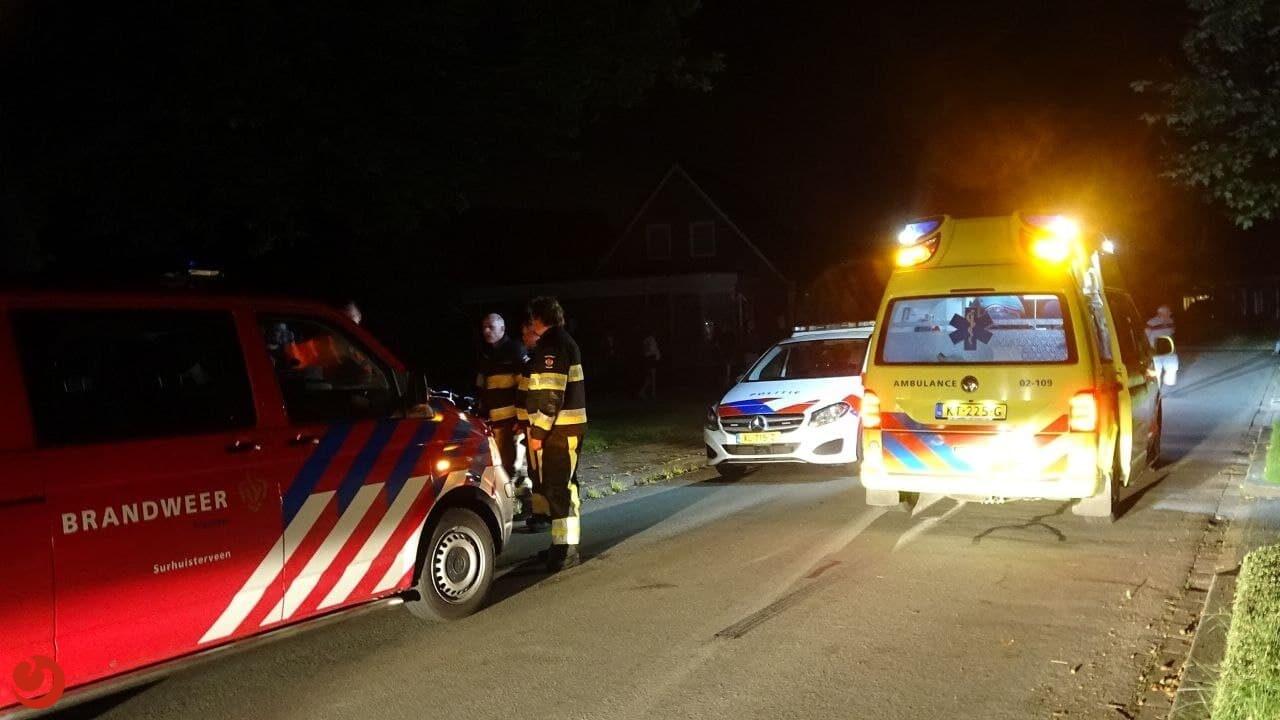 Mogelijke drenkeling door politie aangehouden in Surhuisterveen