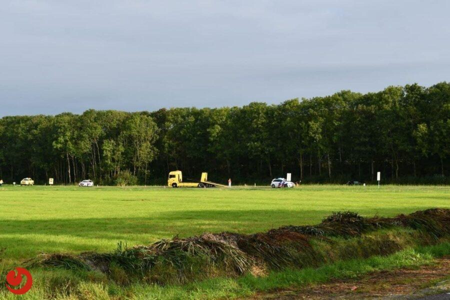 Twee gewonden bij eenzijdig ongeval A7 Nijland